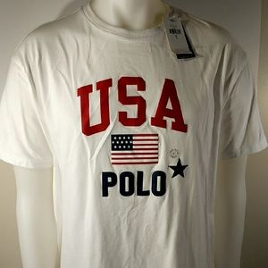 Classic Fit Polo USA T-Shirt
